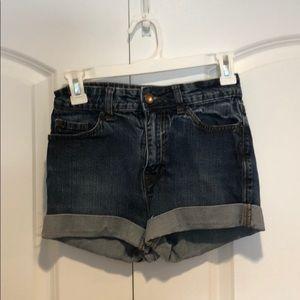 ❤️Loved BDG denim high rise shorts sz 26